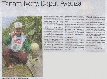 Tanam Ivory, Dapat Avanza