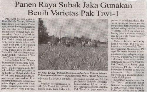 Subak Jaka Panen Raya Pak Tiwi-1