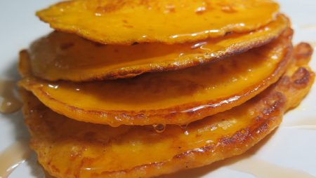 Pancake dari Waluh Red Lampion